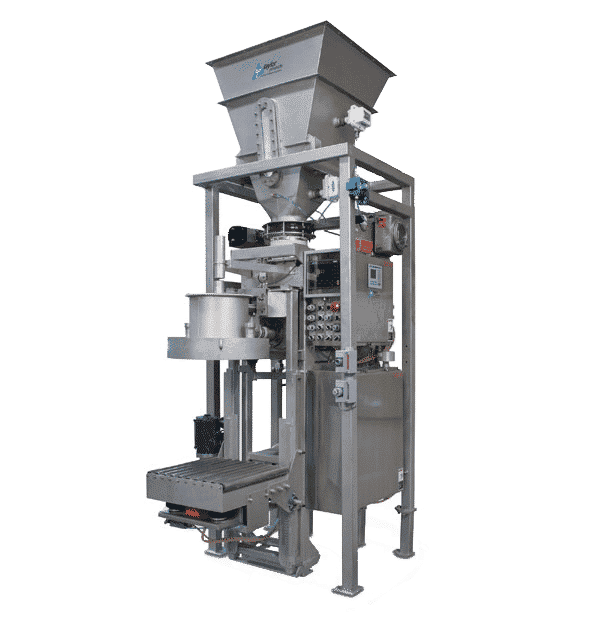fluffy powder packaging system