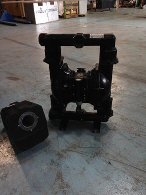 Used ARO Diaphram pump with filter for sale