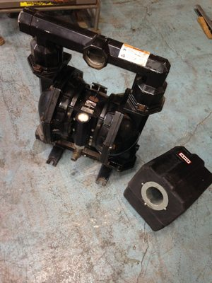 ARO Diaphram pump with filter for sale