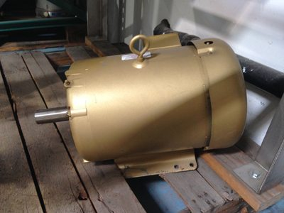 Used Baldor Reliance Super–E 7.5 HP Motor For Sale