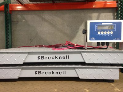 Brecknell 3x3 Scales for sale