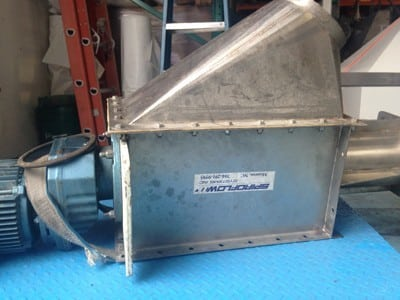 Bulk Powder Feeder spiraflow drive