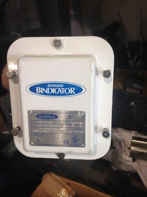 Used Bindicator VRF II-FG for sale
