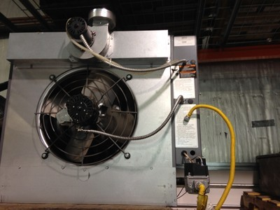 Used Fasco gas heater for sale