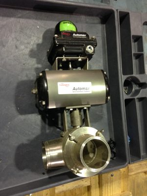 Flowserve Automatic 3-Way Ball Valves