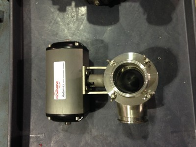 Used Flowserve Automatic 3-Way Ball Valves