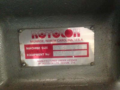 Used ROTOLOK Discharge Gate  For sale