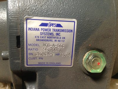 Indiana Transmission Systems motor (2)