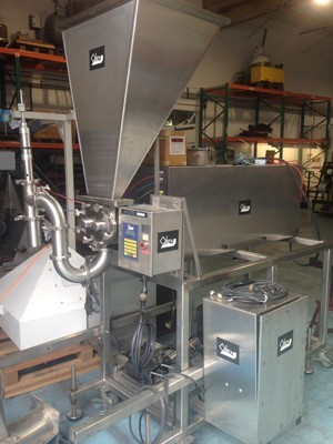 Oden Filler with Waukesha Pump