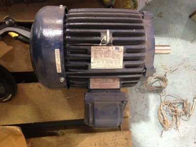 Used Teco Westinghouse motor for sale