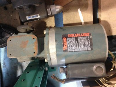 Used Tigear Relialube motor for sale