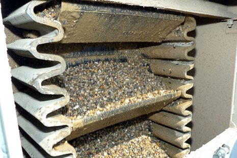 Industrial Corrugated Belt Conveyor System