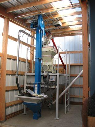 Bucket elevator install