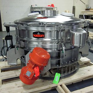 processing vibratory screener