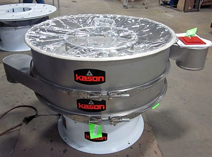 process vibratory screener