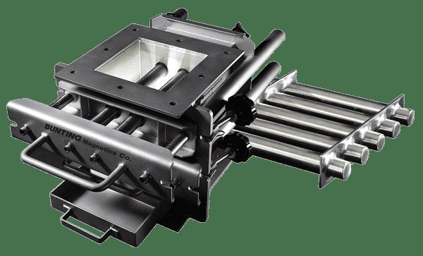 Inline magnet Separators