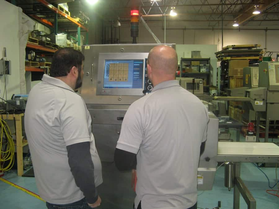 Food Inspection X-Ray Programming