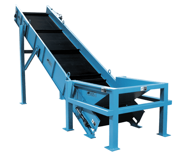 Crossbelt conveyor