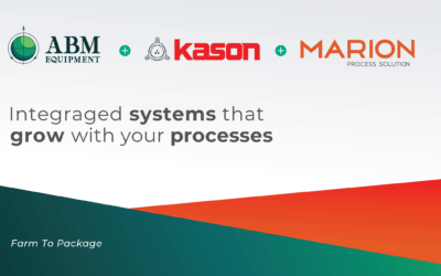 Kason & Marion Team Up With ABM Equipment To Provide Complete Cannabis Processing Systems