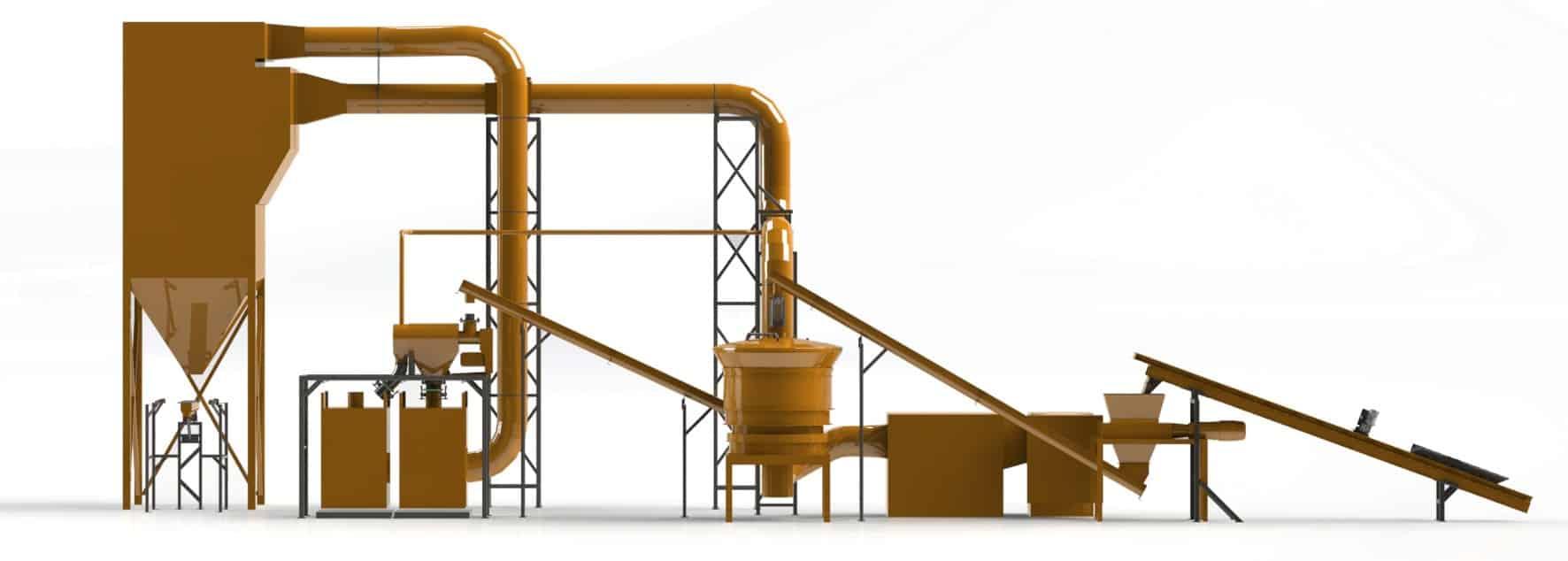 ABM Drying System Model