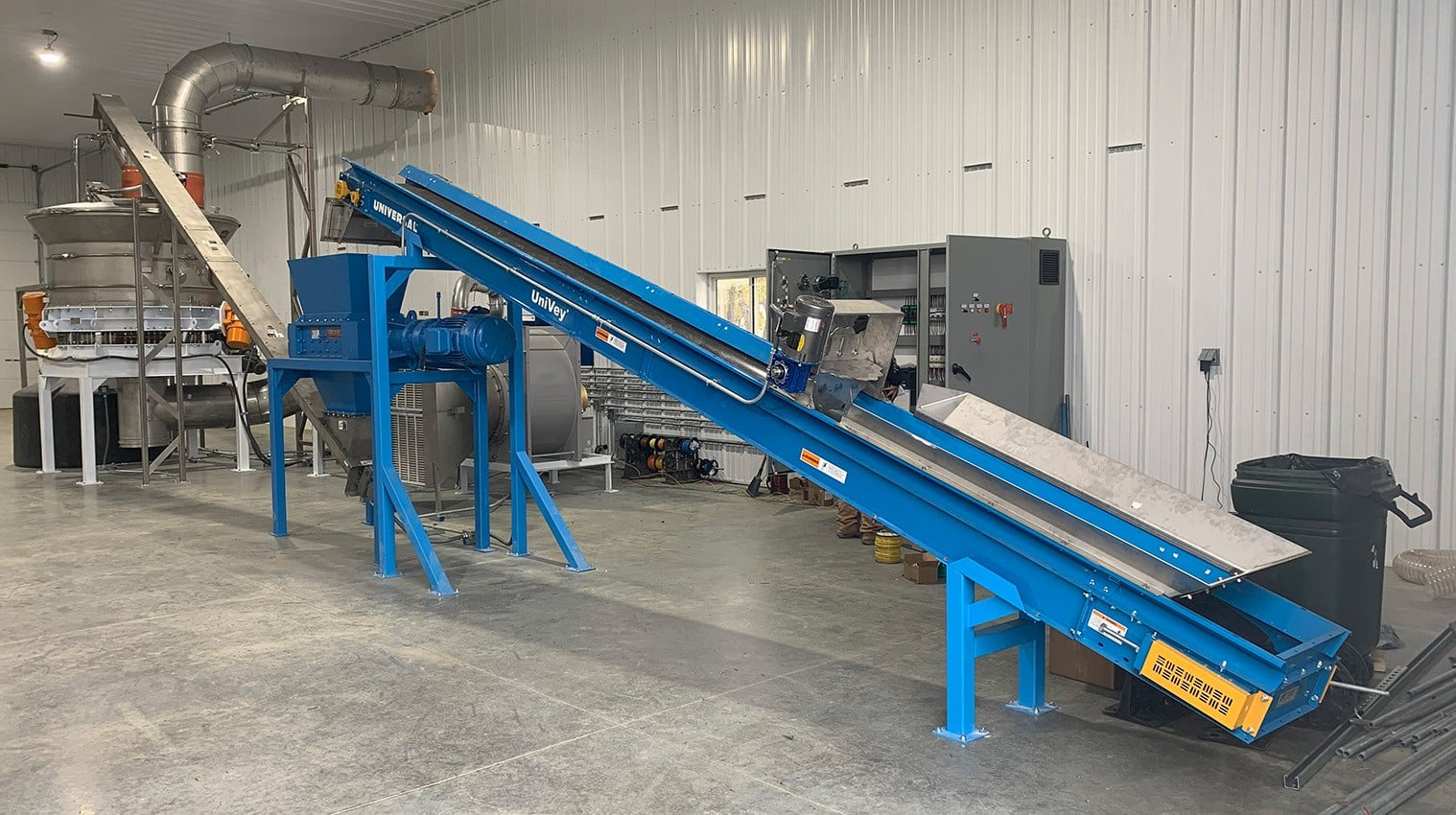 Hemp Trough Conveyor
