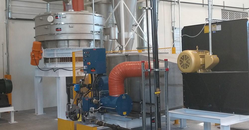 ABM Hemp Dryer Installed