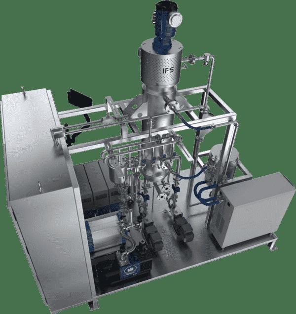 Hemp rolled film evaporator, or distiller